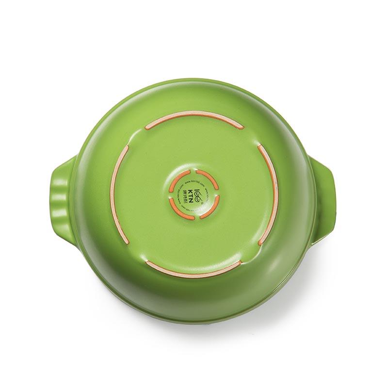 陶瓷养生煲汤锅(1.7l-绿)